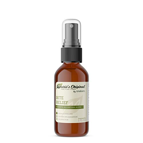 Marie Originals Bug Bite Itch Relief Spray - All Natural Insect Bite Relief. Relieves Itching, Swelling, and Irritation. After Mosquito Bite Relief, Bee Sting
