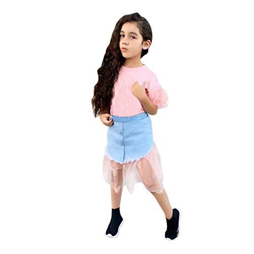 Amphia - Badminton-Röcke & Skorts für Mädchen in Rosa, Größe 7-8 Jahre