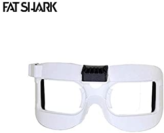 Part & Accessories Fatshark White Faceplate Mask V2 With Fan Equipped for Dominator V2 V3 HD HD2 HD3 FPV Goggles Spare Part Accs