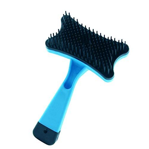 Culer Hundebürste U Katze Bürsten-Haustier-Haar-Bürsten-Selbstreinigungs-Slicker Bürste Pet Grooming Werkzeuge