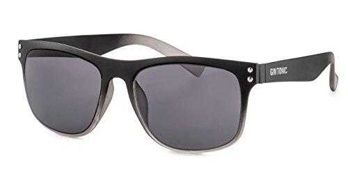 GIN TONIC Eckige Herren Sonnenbrille/Leichte Sonnenbrille mit verspiegelten Gläsern im sportlichen Design F2503048
