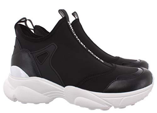 Sneakers Mujeres MICHAEL KORS 43R0WLFP1D Willow Cuero Tejido Negro