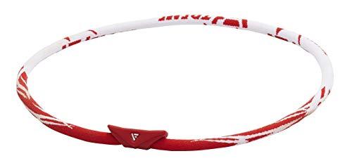 ファイテン(phiten) ネックレス RAKUWAネック EXTREME ゼネラル レッド/ホワイト 45cm