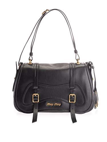 Miu Miu Luxury Fashion Damen 5BN0882BYAF0002 Schwarz Handtaschen | Herbst Winter 19