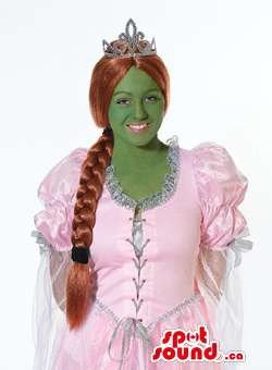 SPOTSOUND Fiona Ogre Princess Shrek Character Adult Size Costume