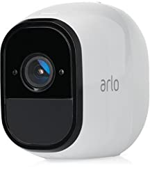 100 percent wire free: Free of power cords and wiring hassles, allowing you to easily place Arlo Pro cameras wherever you want and monitor your home from every angle Weatherproof: Arlo Pro cameras are weatherproof so you can place them anywhere-indoo...