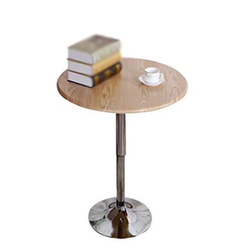 Side table-Q schrijftafel, kan op metalen tafeltjes, voor cafés, dranken, winkelbartafel, instelbare hoogte 60-80 cm