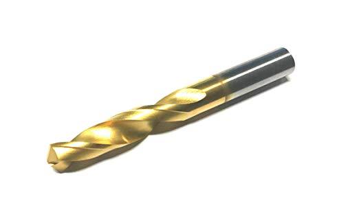 CNC QUALITÄT HM Bohrer Ø 8,5 mm - Kernloch Spiralbohrer M10 - Vollhartmetall TiN - Länge 3 x D