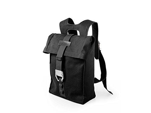 Brooks England Ltd. Unisex Adult Islington Rucksäcke Backpack Black, 48 x 43 x