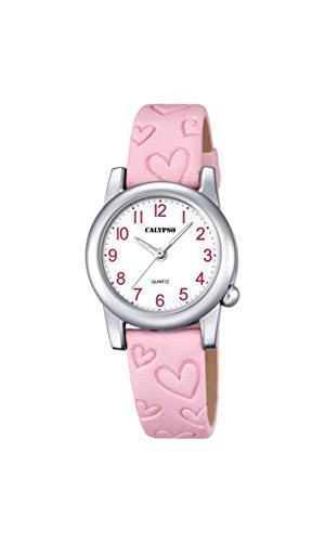 Calypso Reloj Análogo clásico para niñas de Cuarzo con Correa en Cuero K5709/2
