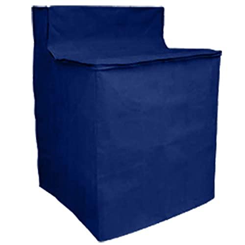 Dependable Washing Machine Cover Waterproof Zippered Blue