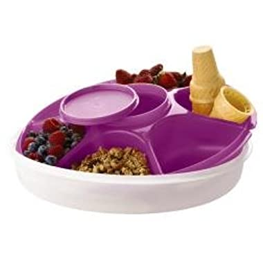Tupperware Serving Center, Berry Bliss (Purple)
