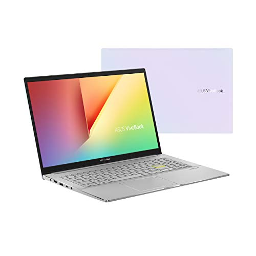 ASUS VivoBook S13 Thin and Light Laptop 13,3 Zoll FHD Display, Intel Core i5-1135G7 CPU, 8GB LPDDR4X RAM, 512GB PCIe SSD, Windows 10 Home, Fingerabdruckleser, Dreamy White, S333EA-DH51-WH