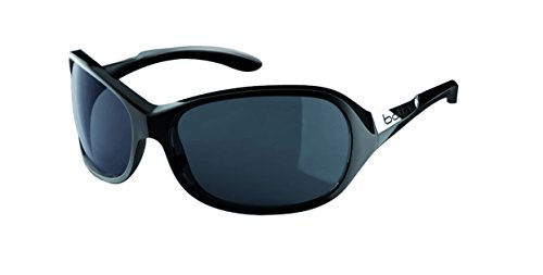 Bollé Damen Grace Sonnenbrille, Black Shiny, One Size