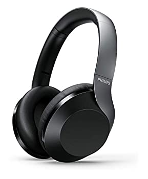 Philips PH805 Active Noise Canceling  ANC  Over Ear Wireless Bluetooth Performance Headphones w/Hi-Res Audio Comfort Fit and 30 Hours of Playtime  TAPH805BK