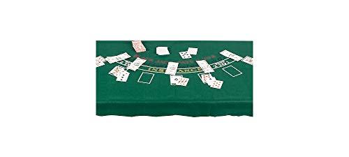 Unbekannt Casino Black Jack Party Tischdecke Themenparty Mottoparty