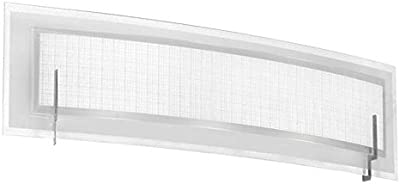 100W Max. Maxim 39712CLPC Swizzle 4-Light Bath Vanity Glass Shade Material Dry Safety Rating Clear Glass 1150 Rated Lumens Polished Chrome Finish Standard Dimmable G9 Xenon Xenon Bulb