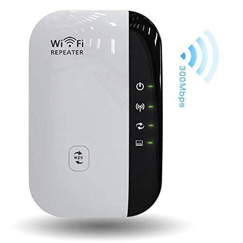 HOTSO [300M] WiFi Router Ripetitore di Segnale Wireless Amplificatore ripetitore WiFi Range Extender 2.4GHz Completa Conforme Router di Segnale con WPS