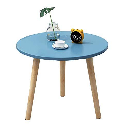 LXDDP Home Holz runde Beistelltische, Moderne kleine Kaffee Beistelltische, Wohnzimmer Endtische für Büromöbel