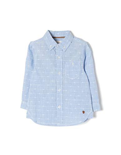 Zippy ZIPPY Baby-Jungen Ztb0301_455_6 Freizeithemd, Blau (Blue 3308), 98 (Herstellergröße: 24/36M)