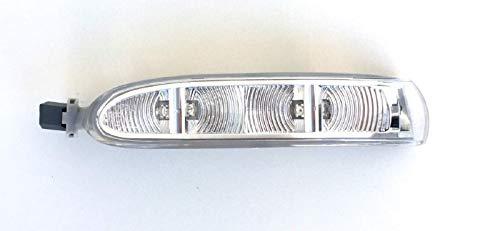 Pro! Carpentis Intermitente LED Espejo con Luz Intermitente Luz Intermitente Lámpara Reflectora Para Retrovisor Exterior Izquierda Lado Conductor Compatible Con A209 R230 W639
