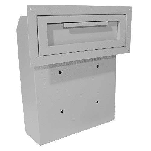 DuraBox Through-The-Door Locking Drop Box (D500) (Grey)