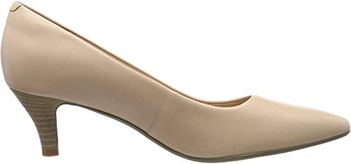 Clarks Linvale Jerica, Damen Pumps, Pink (Blush Leather), 41 EU (7 UK)