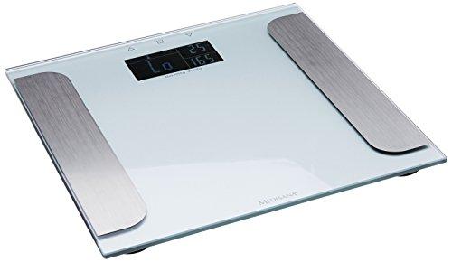 Medisana 40424 lichaamsanalyseweegschaal BS 410 Connect, zilver