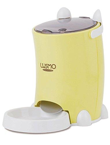 LUSMO Automatic Pet Feeder Yellow L-AF120Y
