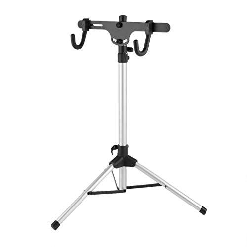 TimmyHouse Bike Repair Stand Pro Adjustable 28'-52' Bicycle Rack Workstand + Hook BP