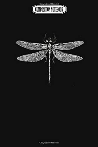 Composition Notebook: Dragonfly Dragonfly Libellule Libelle ???????? Audioquest Blue Corkcicle Dragonflies Barrette Dragonfly Notebook Journal Notebook Blank Lined Ruled 6x9 100 Pages