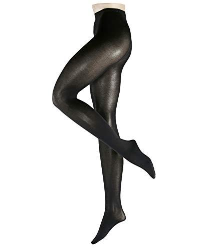 ESPRIT Damen Strumpfhosen Cotton - Baumwollmischung, 1 Stück, Schwarz (Black 3000), Größe: XXL