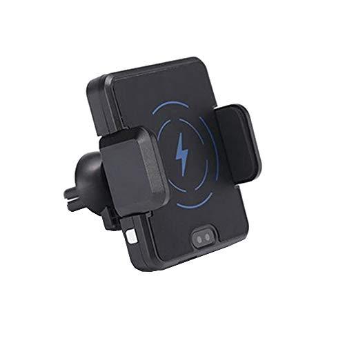 Wooya Supporto per Caricatore A 360 ° per Caricabatterie per Telefono Wireless A Infrarossi Intelligente Qi per iPhone-1