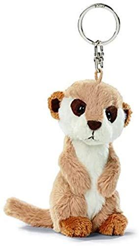 NICI 31744 31743 - Erdmännchen 10 cm, Bean Bag Schlüsselanhänger