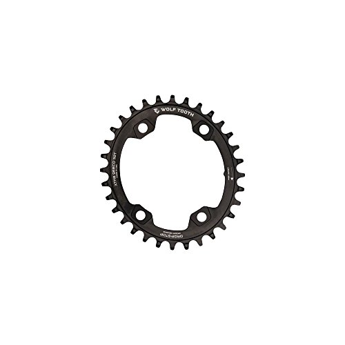 Wolf Tooth XTR M9000 96 BCD Plato, Negro, 32