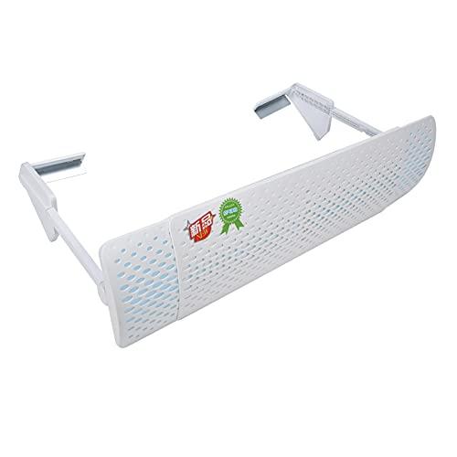 Deflettore dell'aria, regolazione multiangolo Deflettore del vento rotante a 360 ° Deflettore del condizionatore d'aria per la maggior parte dei condizionatori d'aria