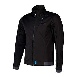 シマノ(SHIMANO) サイクリングジャケット ウインドジャケット ブラック S(ヨーロッパサイズ) 身長目安:167-173㎝