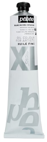 Pebeo XL - Pintura al óleo (200 ml), color blanco