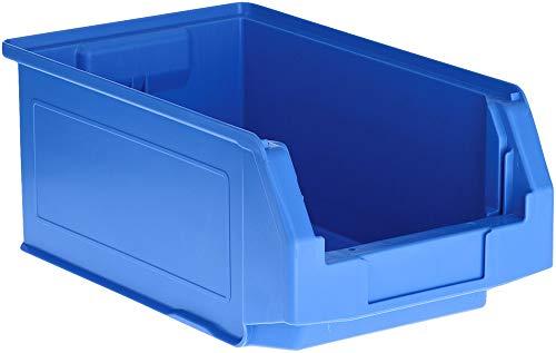 SSI Schäfer Kunststoffbox Sortierbox Stapelbox LF 321, Aufbewahrung, Made in Germany, Polypropylen (PP), L 343 x B 209 x H 145 mm, 7,5 l, Blau