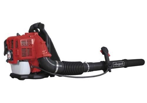 Scheppach 5911103903 Laubbläser / Benzin-Laubbläser LB2500BP | leistungsstarkes Gerät für vielseitigen Einsatz, sehr flexibler Schlauch, Anti-Vibrationssystem | 51,7 cm³ 2-Takt-Benzinmotor, 295 km/h
