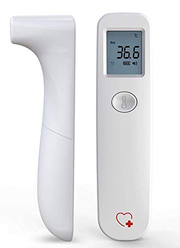 URHEALTH Infrared Thermometer | Digital Thermometer for Kids and Adults, Child and Baby Thermometer | No Touch Medical Forehead Thermometer | Instant Results Touchless Thermometer for Humans