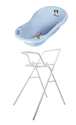 Baby Badewanne Micky Maus 84 cm + Badewannenständer