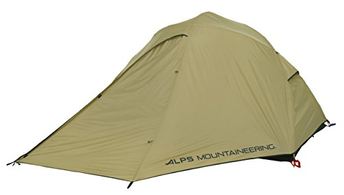 """ALPS Mountaineering Extreme 3 Outfitter Tent Tan/Green/Tan, 96"""" L x 80"""" W x 50"""" H"""