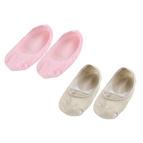 Generic 2 Paires Chaussettes Gel Hydratantes Douche pour Peaux Craquelées Hydratantes Soins des Pieds Exfoliantes Chaussures à Pieds Sèches Pédicure