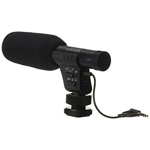 Amazon Basics - Micrófonos para cámara LJ-OCM-002