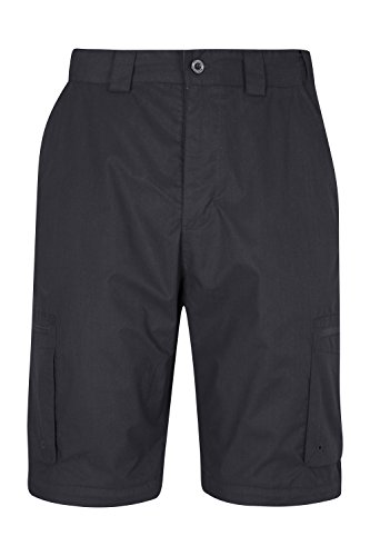 Mountain Warehouse Trek Zip-Off Mens Trousers – Convertible into Shorts and Comfy, Great for Travelling, Hiking and…