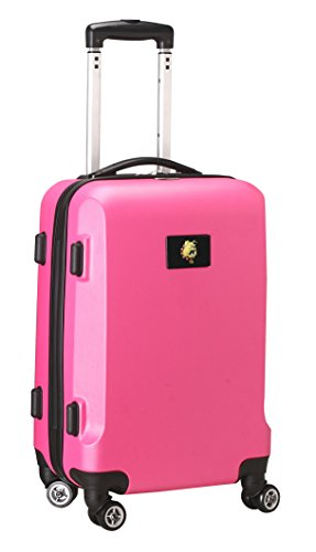 Lowest Price! Denco NCAA Ferris State Bulldogs Carry-On Hardcase Luggage Spinner, Pink