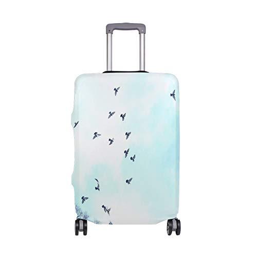 Montoj Birds Flying The Sky - Funda para Maleta, diseño de pájaros