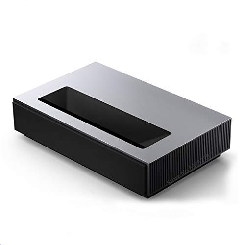 HDDFG Proyector 4K MAX Compatible con TV 8K 4500 ANSI Lumens ALPD 3.0 DTS Sky Channel 3 + Sistema de Cine en casa de 64GB