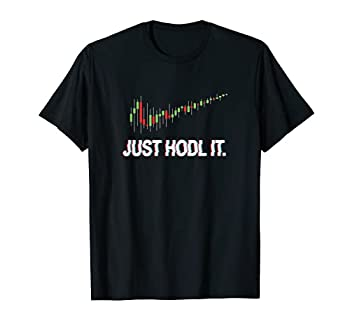 Juste HODL Chandelier Moon Chart Crypto Currency T-Shirt T-Shirt